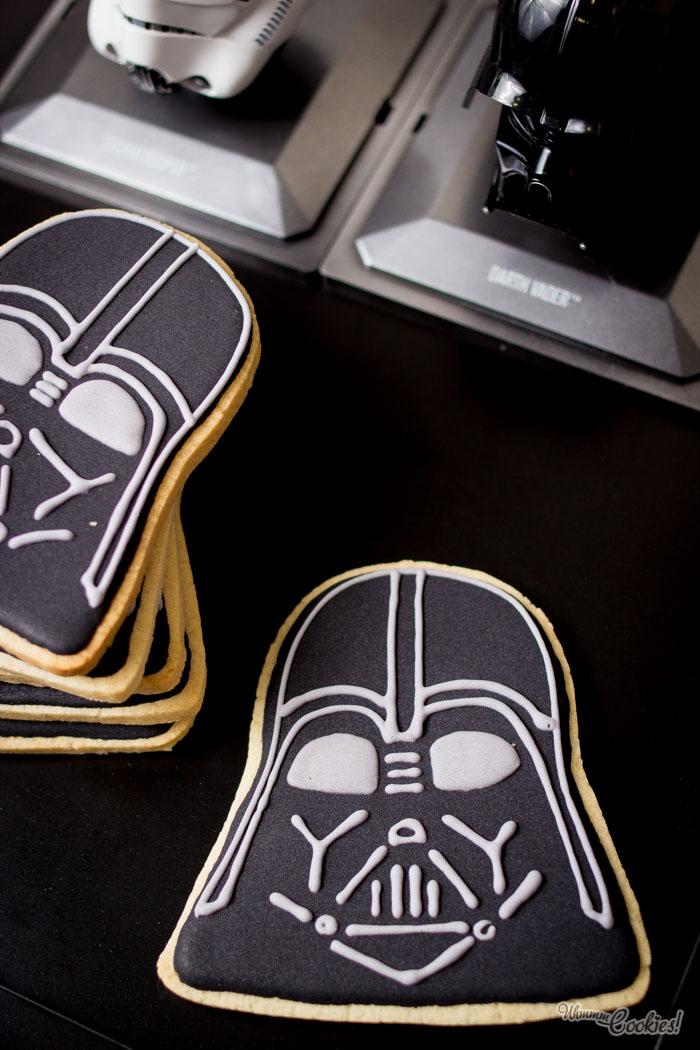 La falta de fe de esta galleta de Darth Vader, resulta molesta