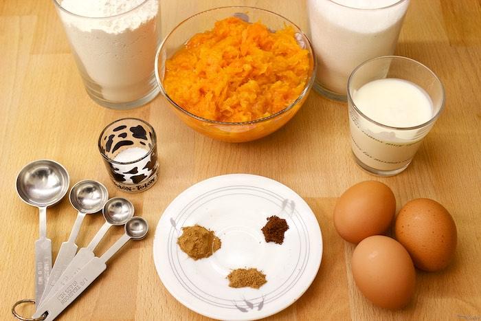 Ingredientes de temporada para un cupcake otoñal