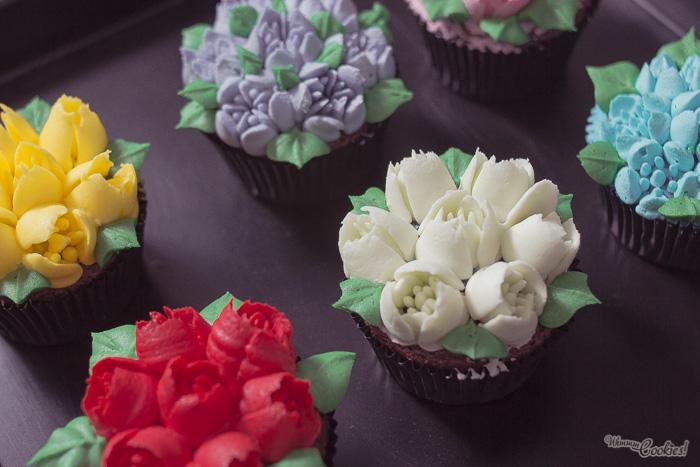 Como Decorar Tartas Con Nata De Colores Diminutos