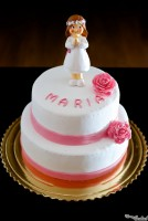 """MISS ROSE"" FONDANT CAKE"