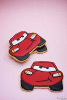 "RAYO MCQUEEN ""CARS"" COOKIE"