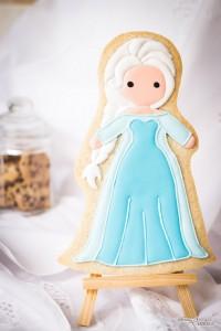 """La galleta """"Elsa"""" de Frozen, que no da frío, sino ternura"""