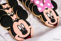 Mickey & Minnie cookie set